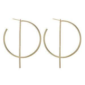 NEW Future Men's Round Dangle Earring Set Ear